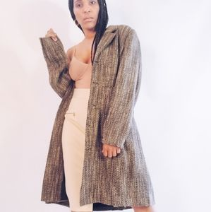 90's Wool Trench